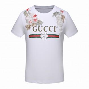 Camisa Camiseta Gucci  Flores Bordada M G GG