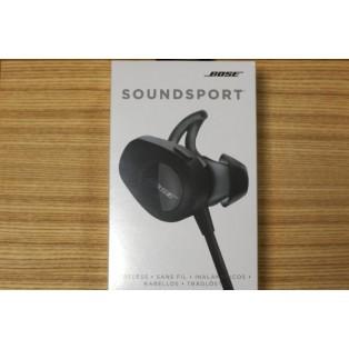 Bose Headphone Soundsport In-ear Wireless (black)