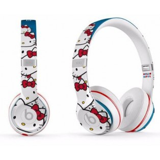 Fone Hello Kitty Beats By Dr. Dre Solo 2 com fio
