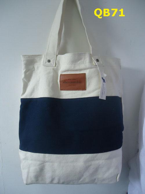 Bolsa de tecido da hollister : Bolsa sacola hollister abercrombie de tecido originais r