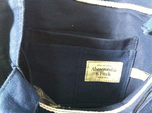 Bolsas Em Tecido Hollister / Abercrombie