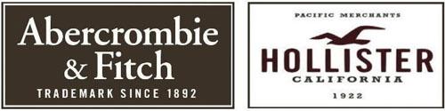 Bolsa Abercrombie e Hollister De Tecido